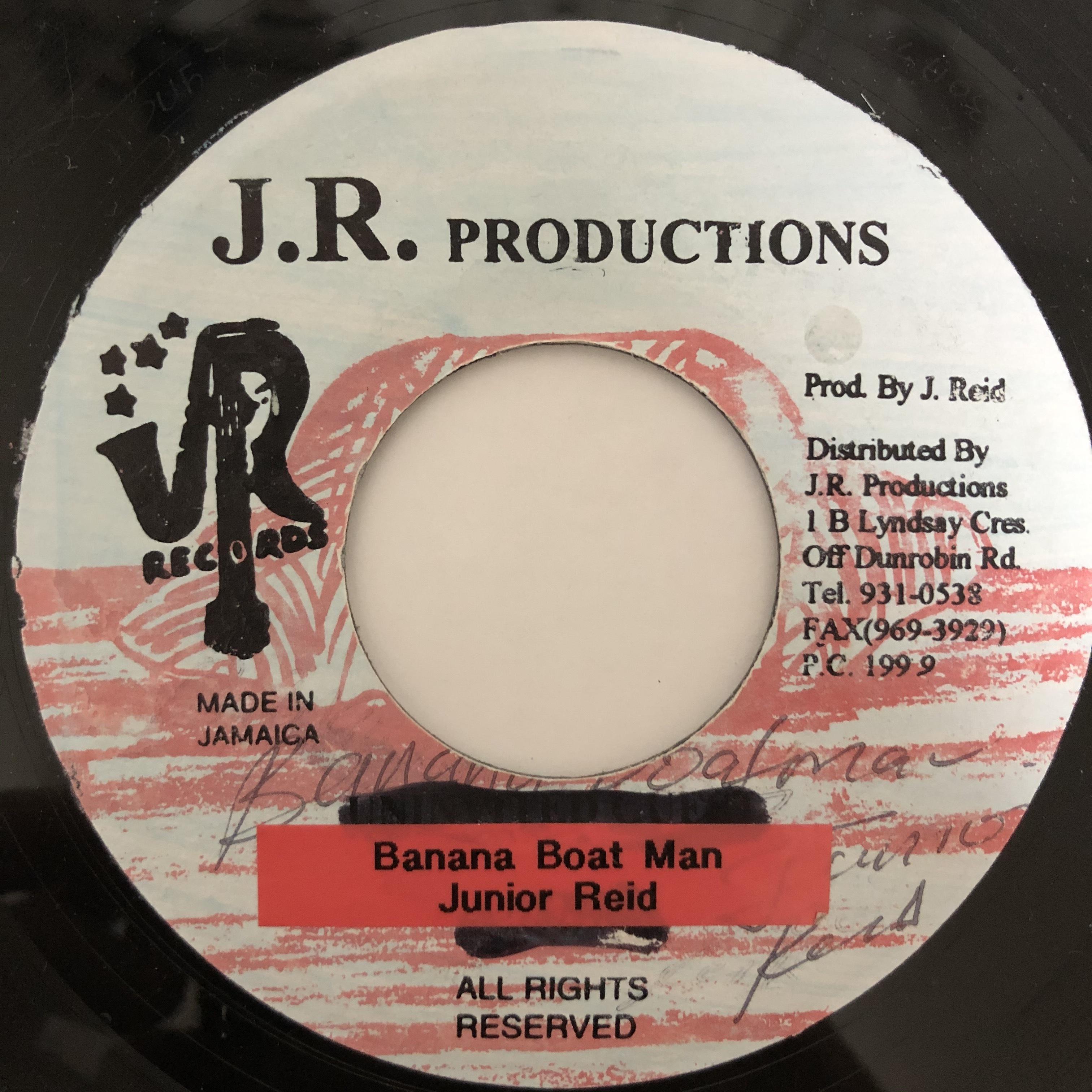 Junior Reid - Banana Boat Man【7-20410】