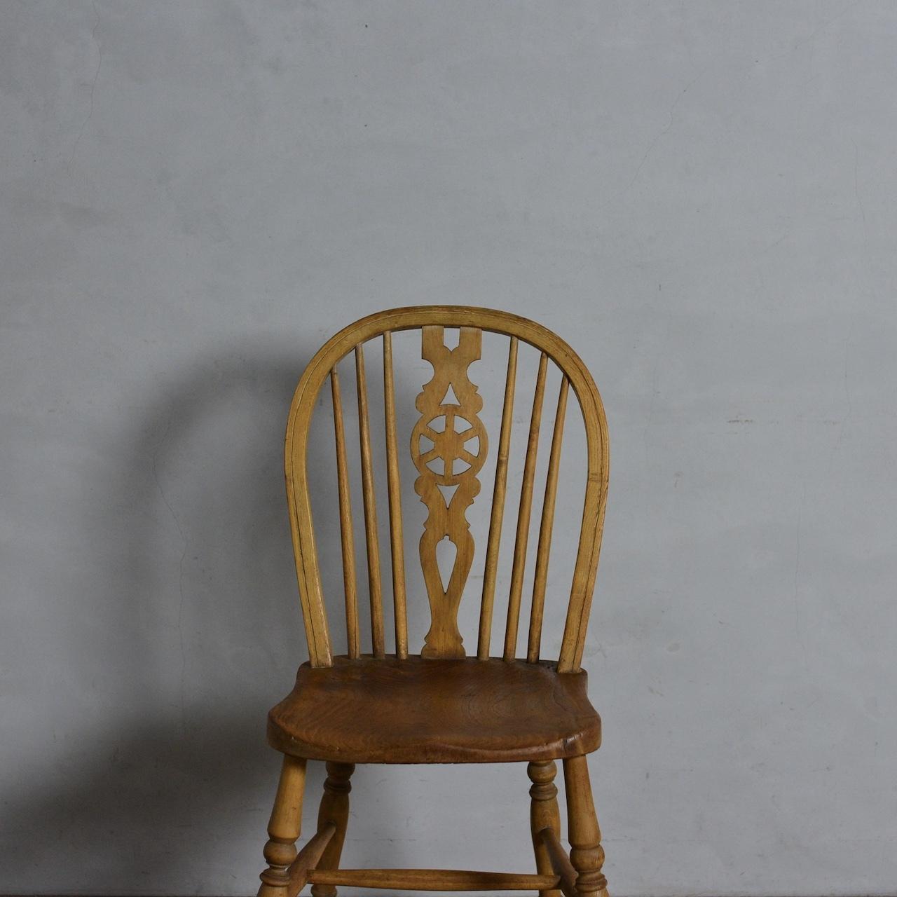 Wheelback Chair / ホイールバック チェア 【A】〈ダイニングチェア・ウィンザーチェア・椅子〉112086
