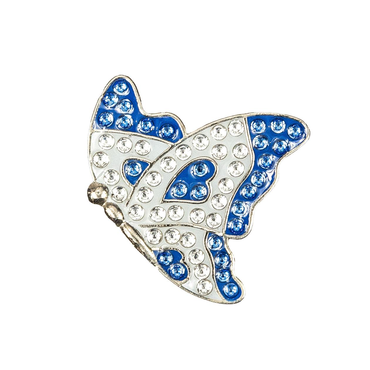 34. Butterfly in Flight Blue