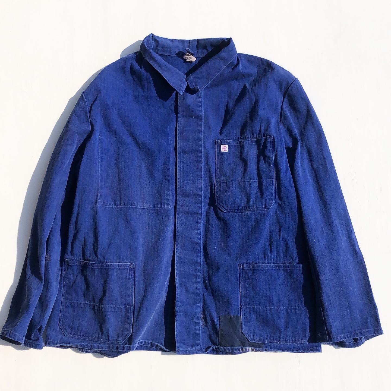 USED French Work Jacket