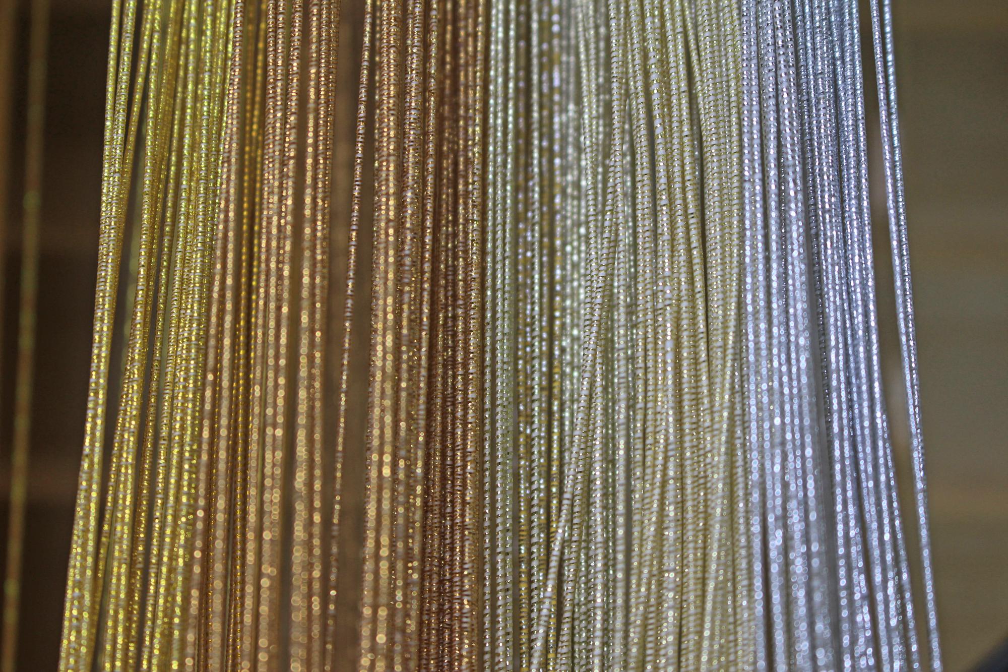色鮮やか水引<白+黒+グレー+金+銀+レインボー>シリーズ