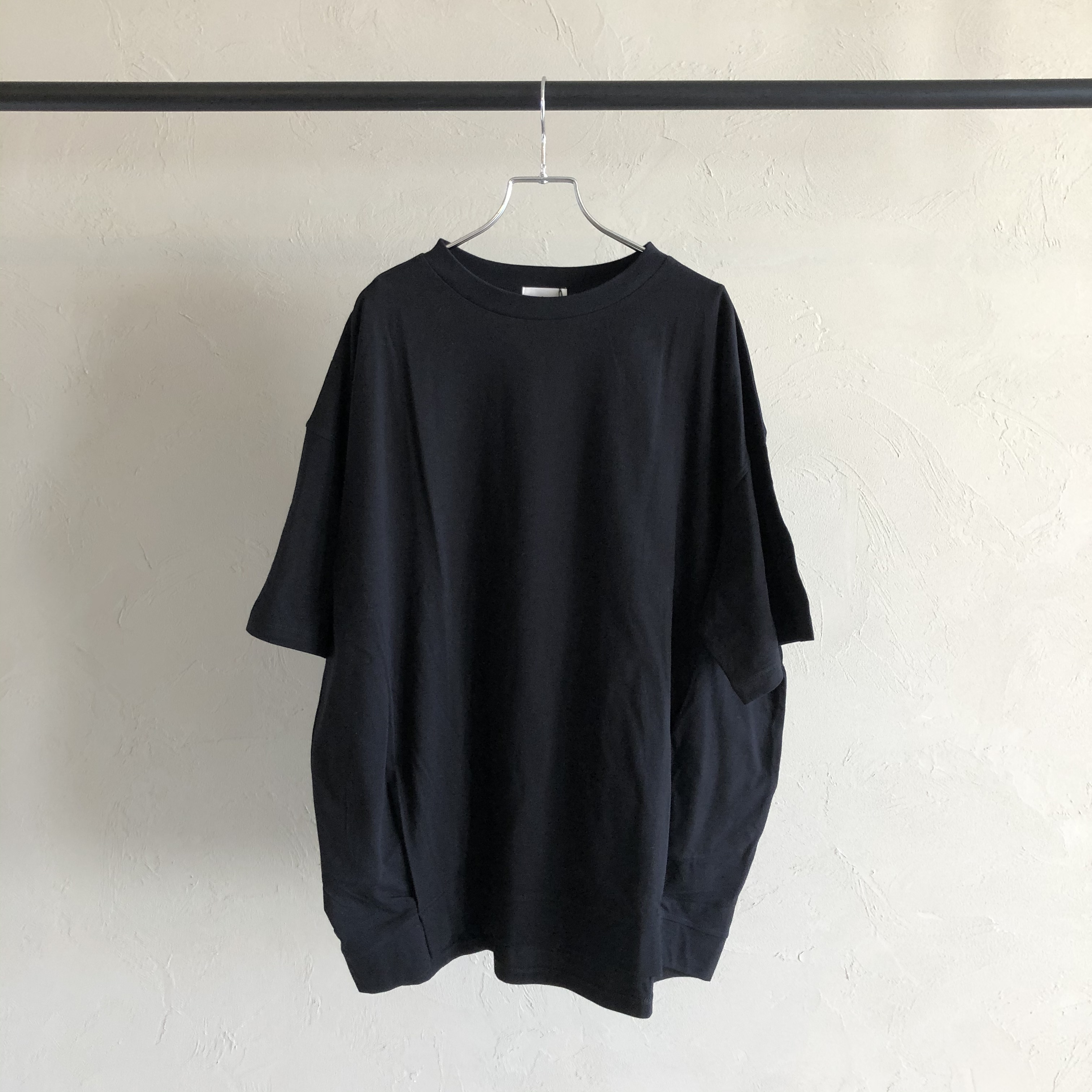【 siro de labonte 】- R123219 - タックビッグTシャツ