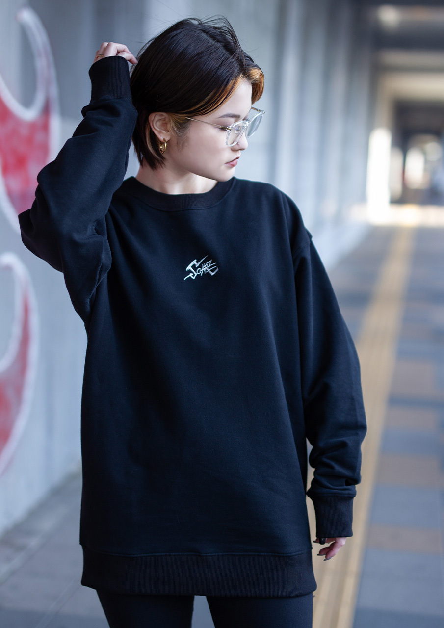 Sweatshirt : Black