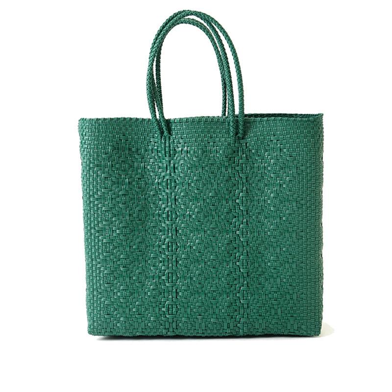 MERCADO BAG ROMBO - Green(M)