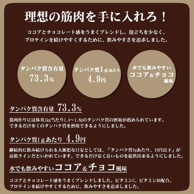BMPプロテイン ココア&チョコ風味 3kg