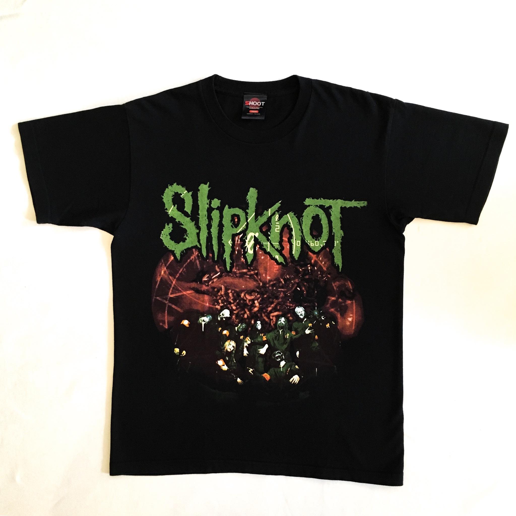 """Slipknot """"IOWA"""" 2002's Tour Tee"""