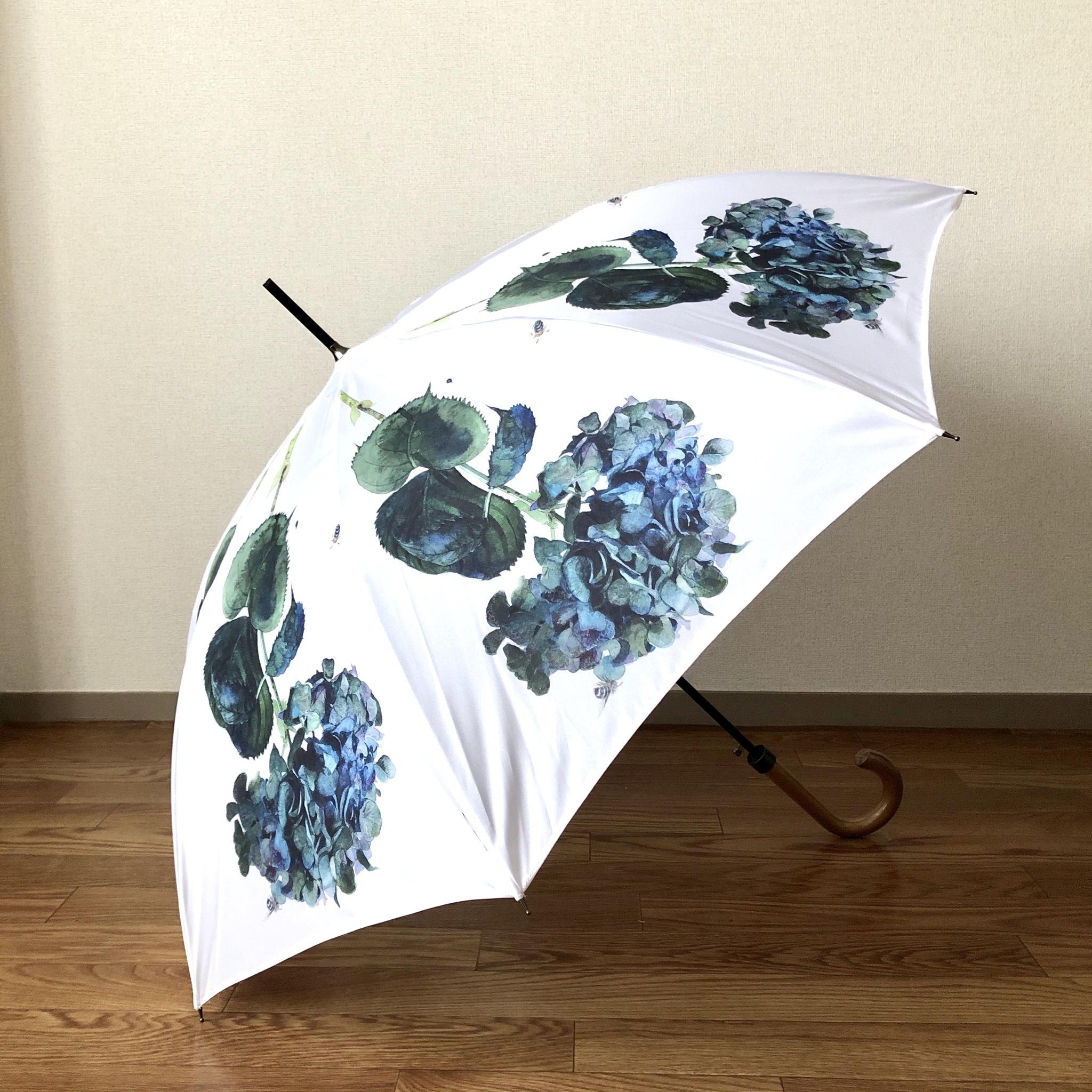 【受注生産】ターコイズウォータードロップ雨傘 - Turquoise water drop umbrella
