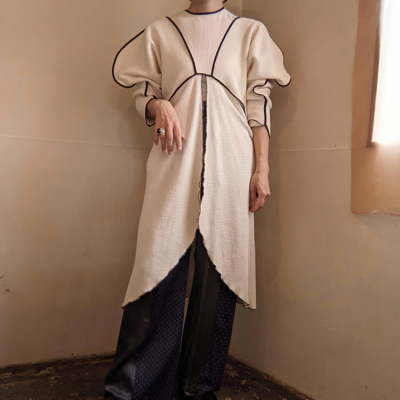 【 HOUGA 】ホウガ / drawing pullover