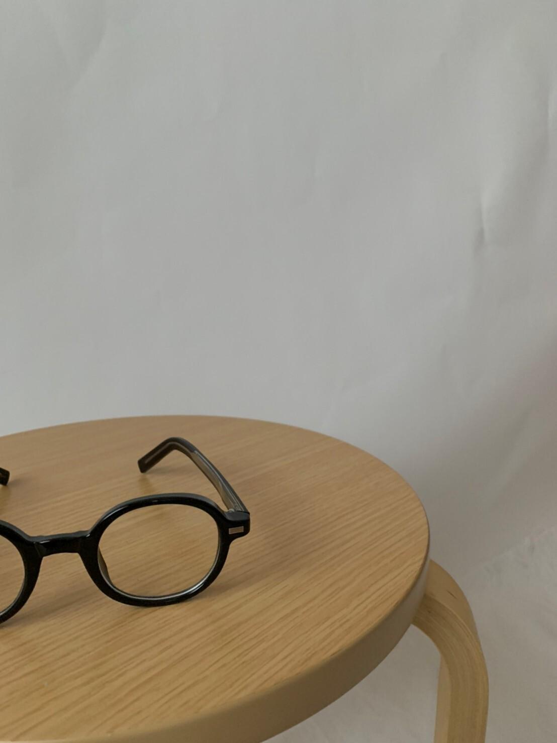 【asyu】round classic glasses《last1》