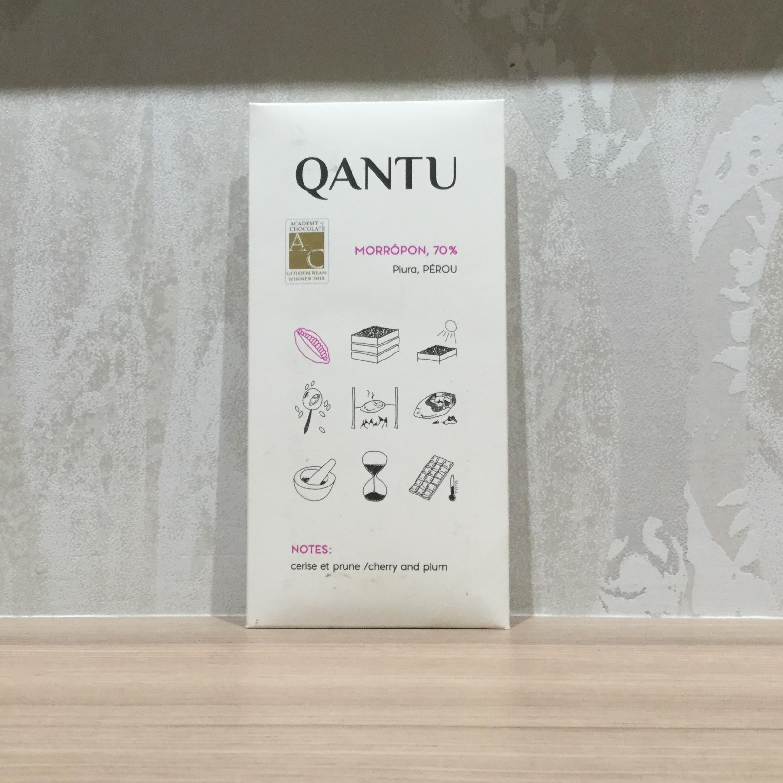【QANTU/カントゥ】モロッポン70%ピウラ