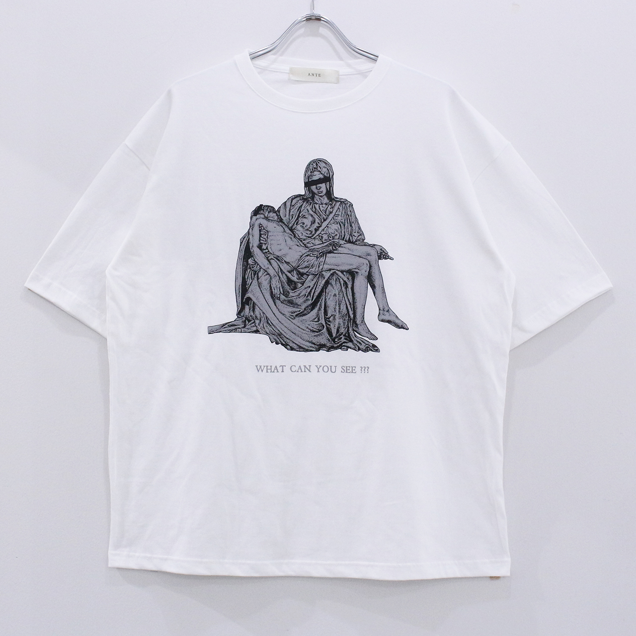 "ANTE ""mosaic"" half sleeve T-Shirts"