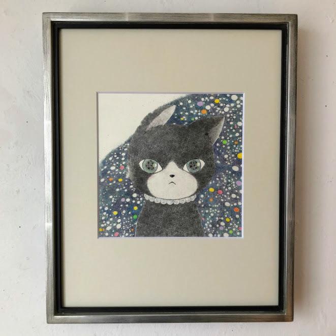 橋本京子「ネコはその先を見ている」