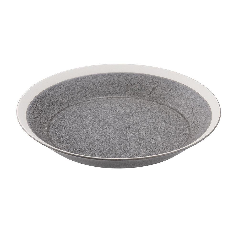 yumiko iihoshi porcelain(ユミコイイホシポーセリン)×木村硝子店 dishes 220 plate (moss gray) /matte プレート 皿 22cm 日本製 255633