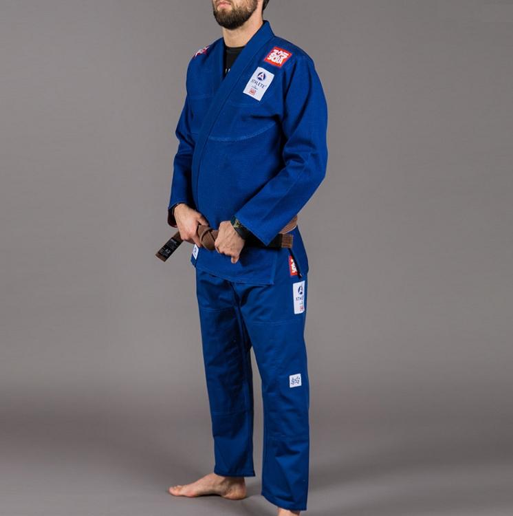 スクランブル 柔術衣 アスリート 2 ブルー Scramble  Athlete 2  ブラジリアン柔術衣(柔術着)