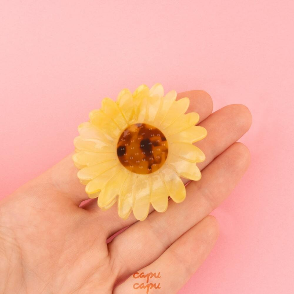 Coucou Suzette Sunflower Hair Claw