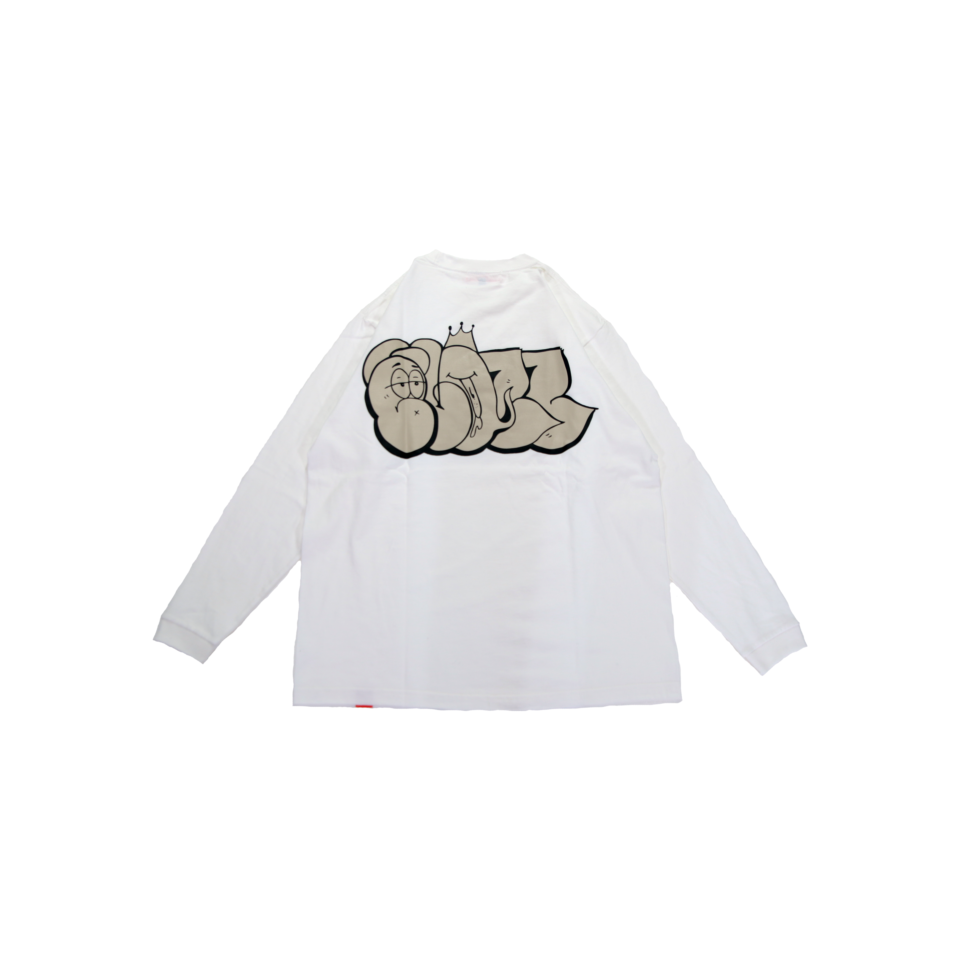 BLAZZ by IRA HEAVY L/S TEE [WHITE]