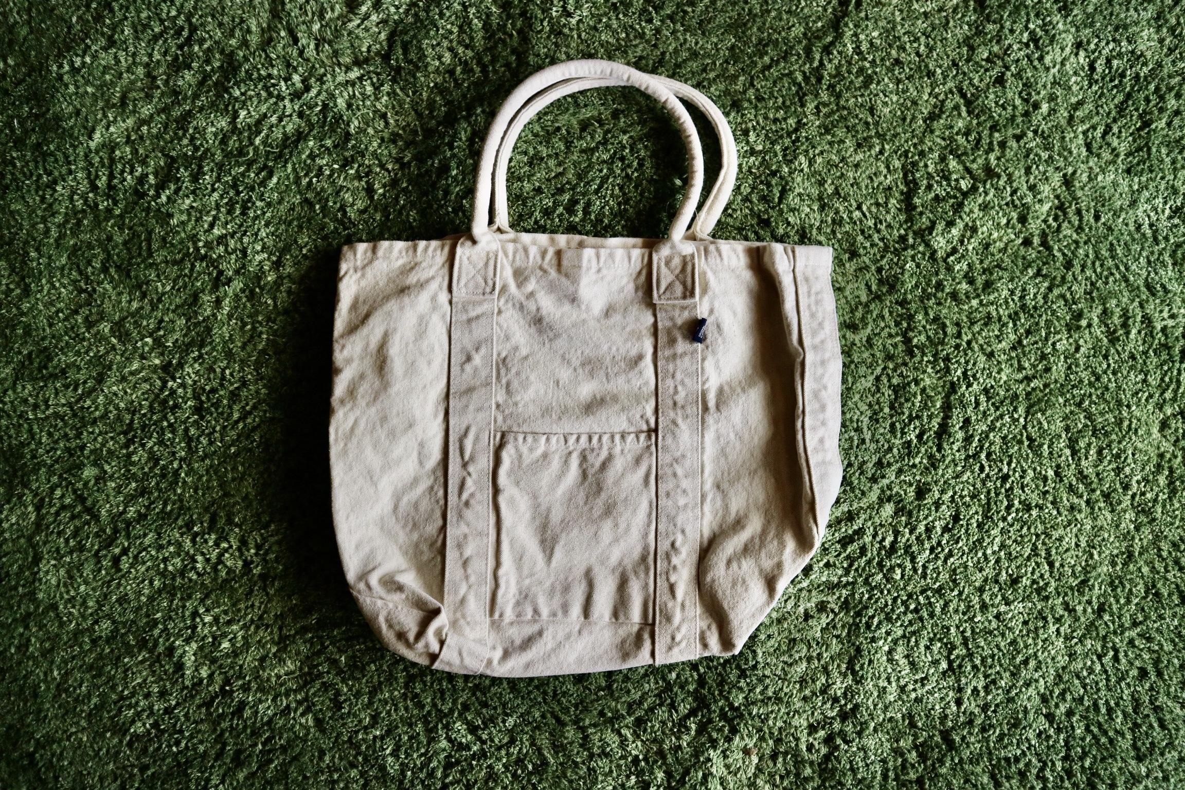 【新色navy登場】倉敷・製品染め 毎日使いたい帆布トートバッグ