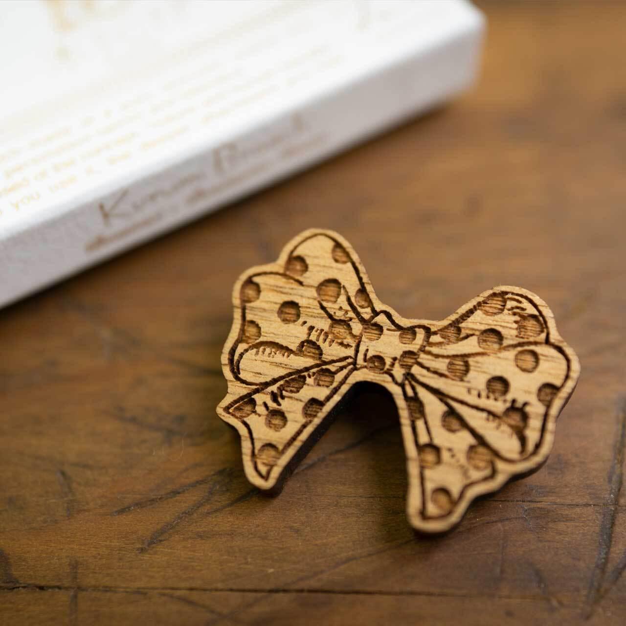 ribbon / リボン(Brooch)