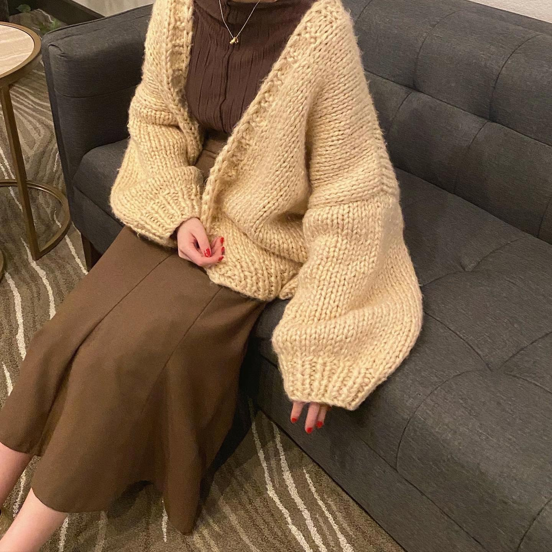 DAYNYC handmade knit cardigan
