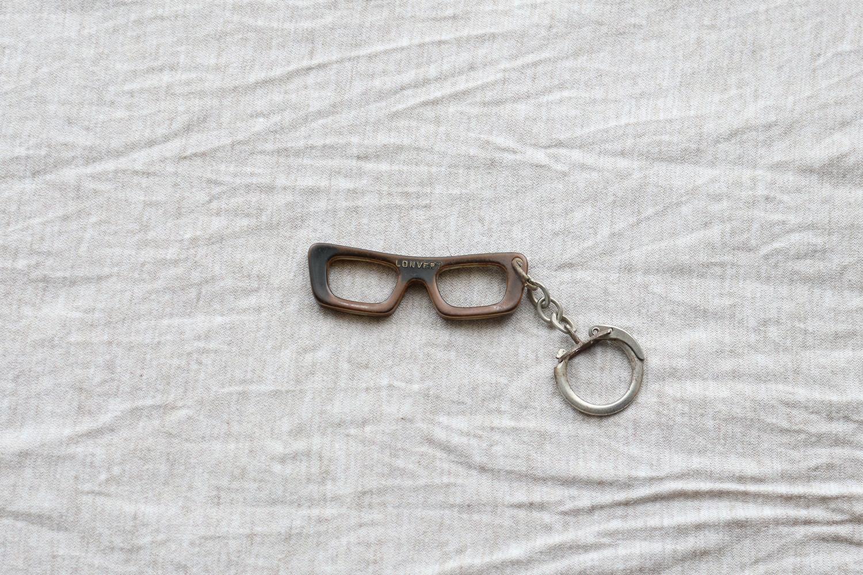 【フランス】メガネのキーホルダー/LONVERT