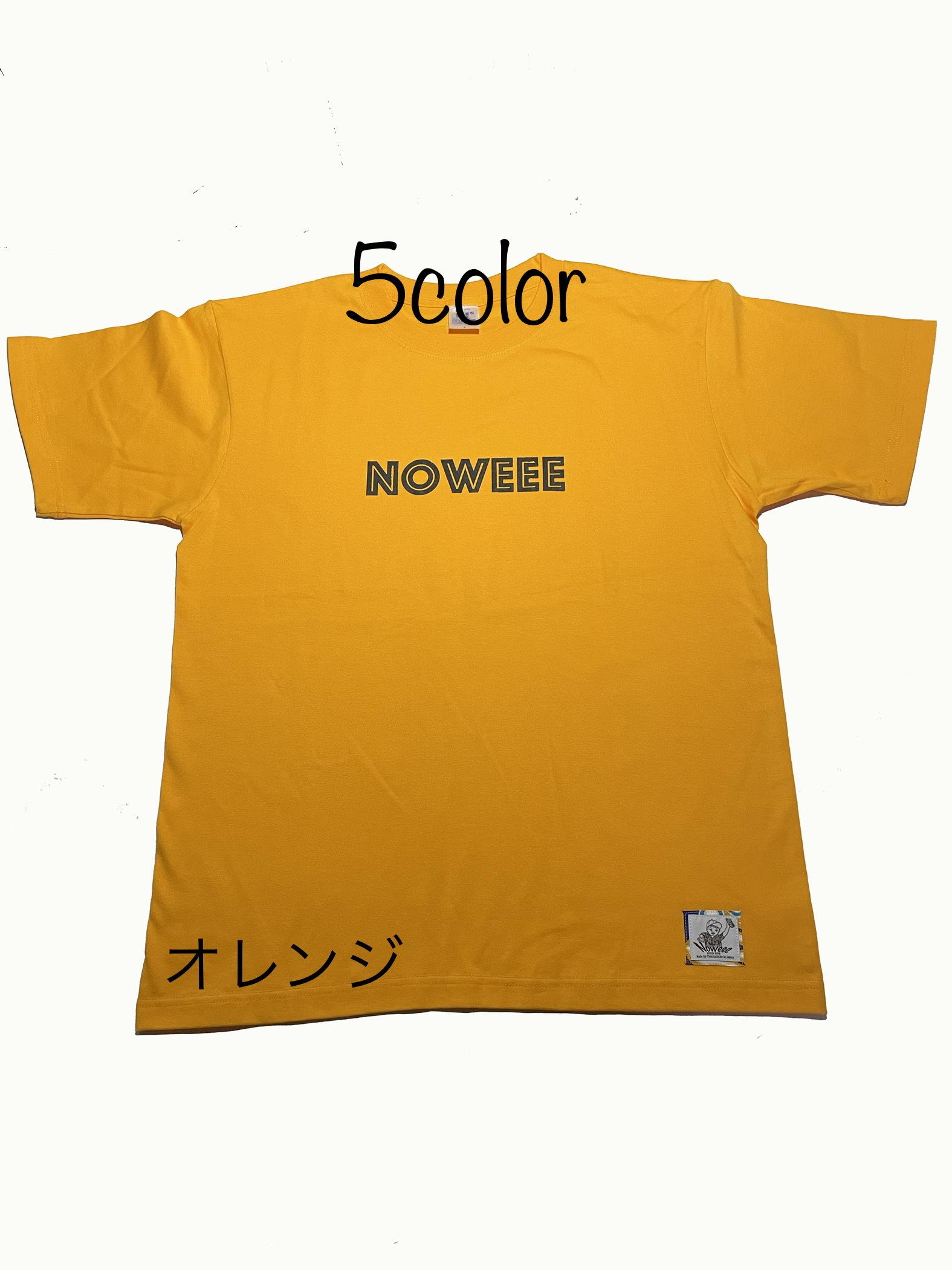 Tシャツ 〜Noweeeロゴ②〜 【全5色】