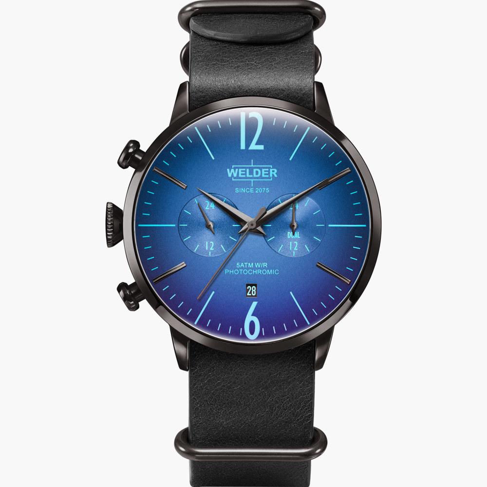 【WELDER ウェルダー】WWRC505/MOODY DUAL TIME 45mm ムーディー デュアルタイム/国内正規品 腕時計
