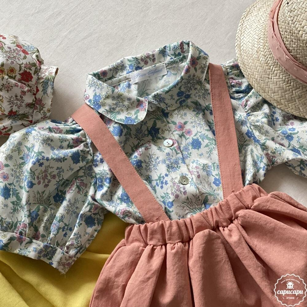 «sold out»«pour enfant» レイラ ブラウス Layla blouse