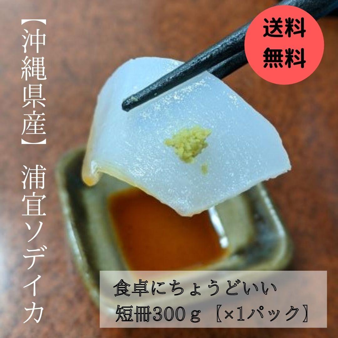 ★送料無料★【浦宜ソデイカ】 短冊300グラム×1パック