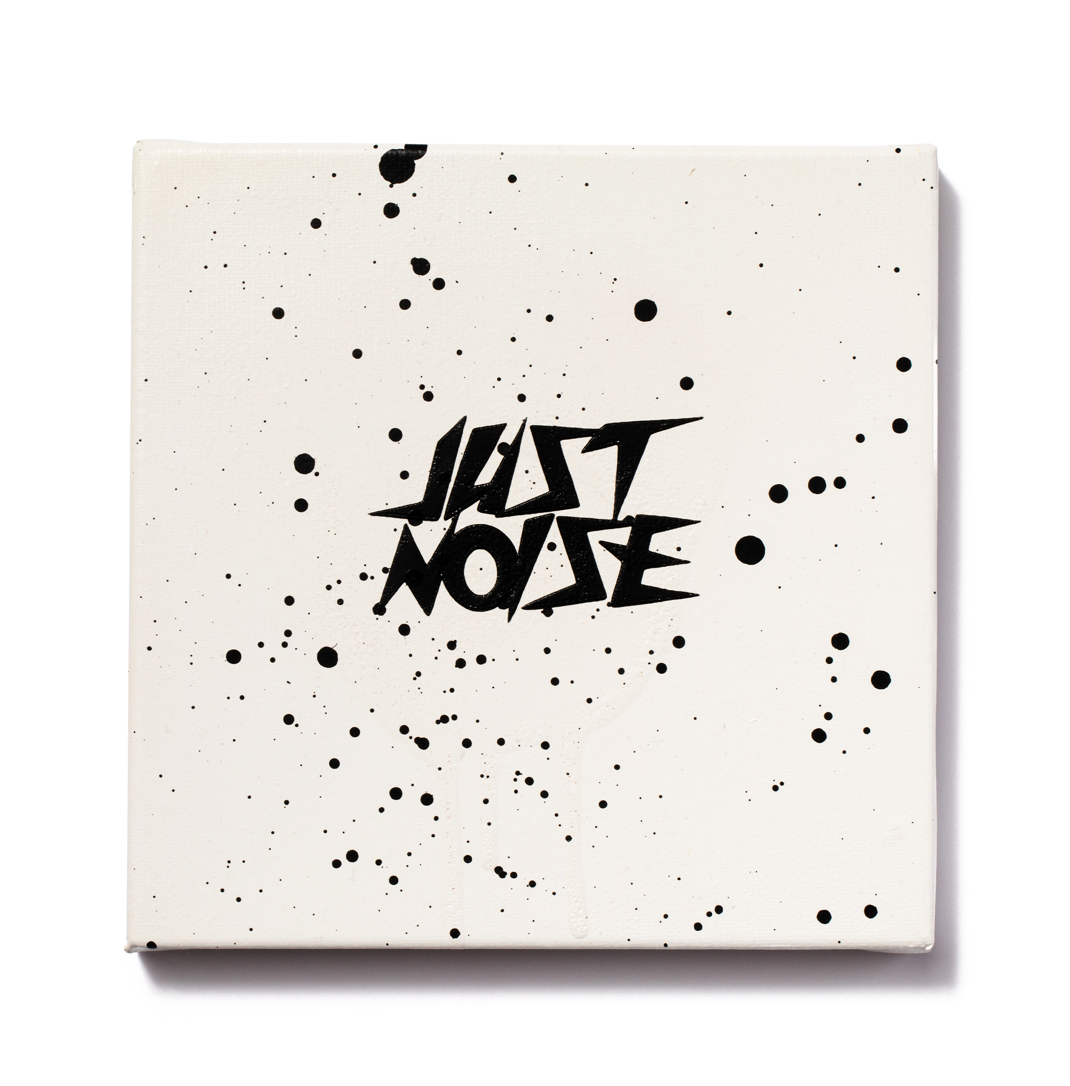 JUST A LITTLE NOISE - WHITE/WHITE