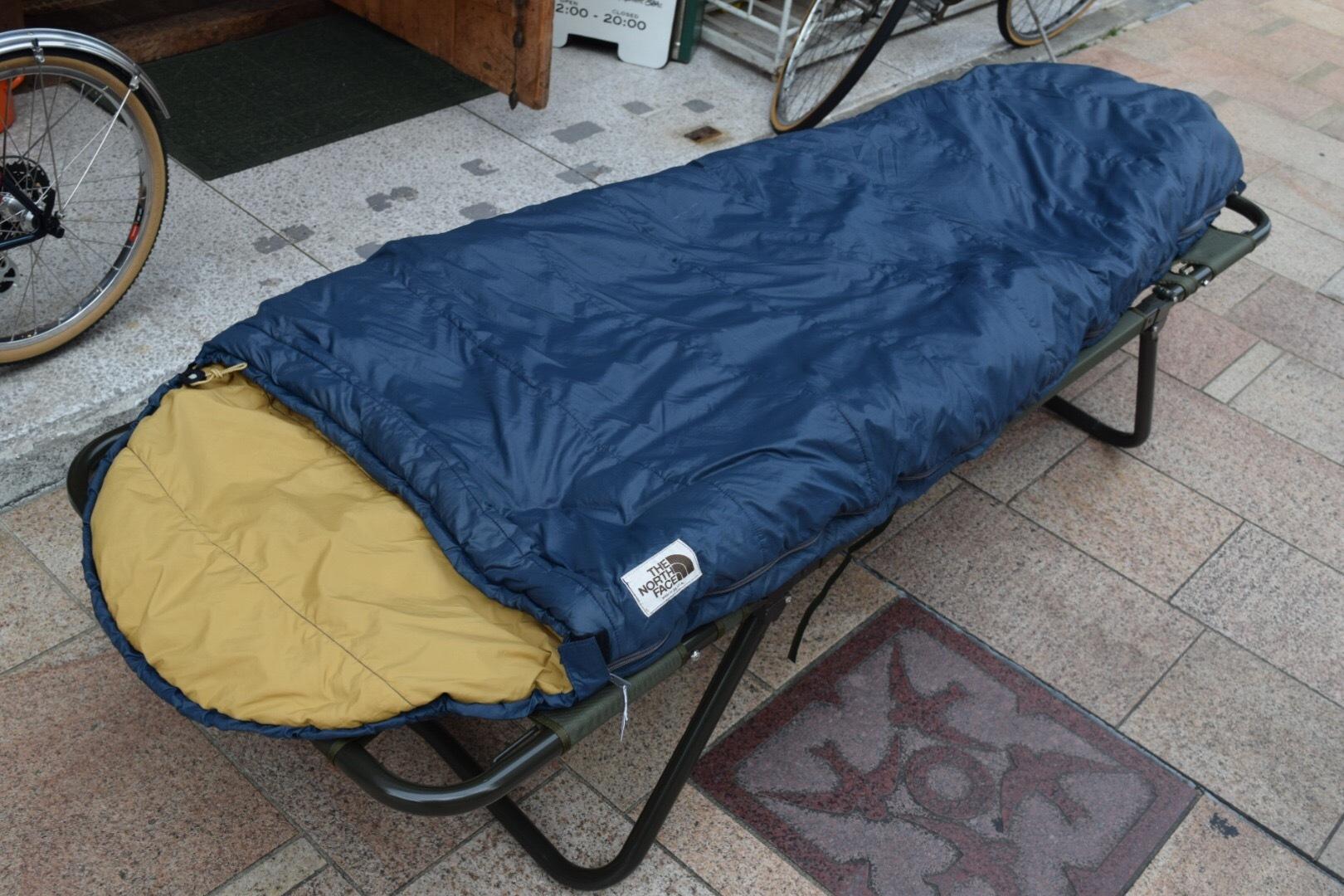 USED 美品 ザノースフェイス  ビンテージシュラフ 大人用 寝袋 スリーピングバッグ 80s マミー型 クリーニング済