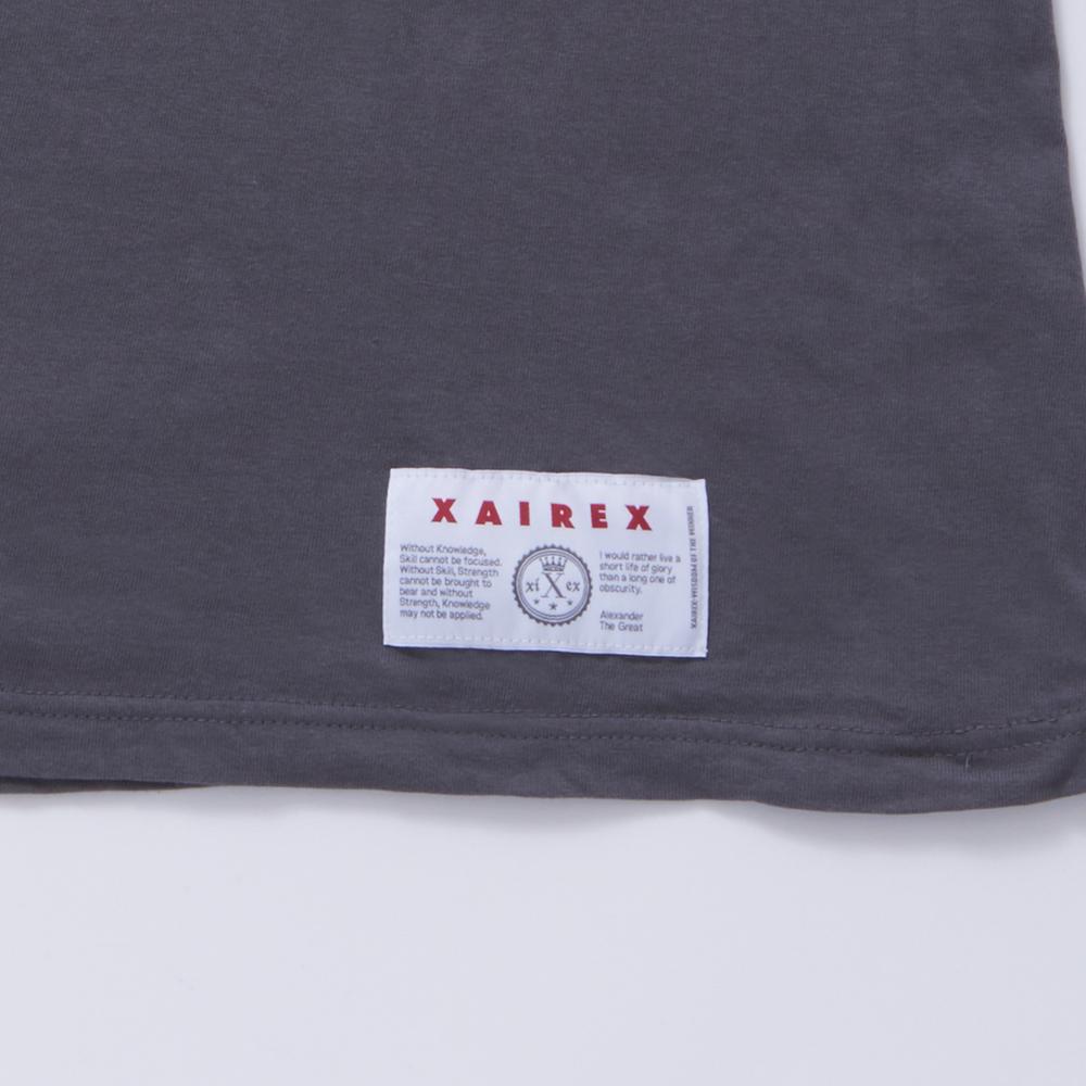 XAIREX / BROCKTON TEE(GRAY)
