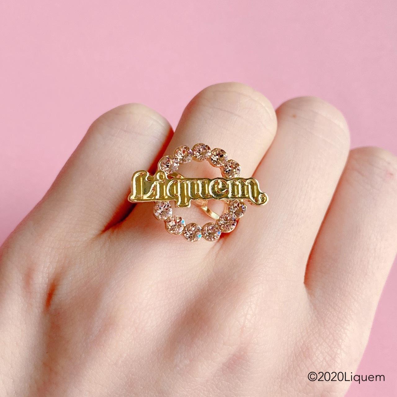 Liquem / LOGO リング(GLD)