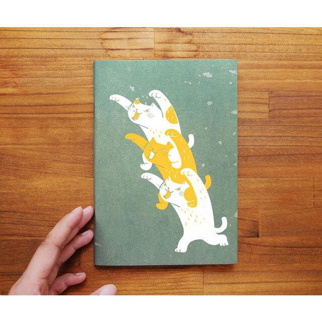 筆記本 ノート 幽霊猫?