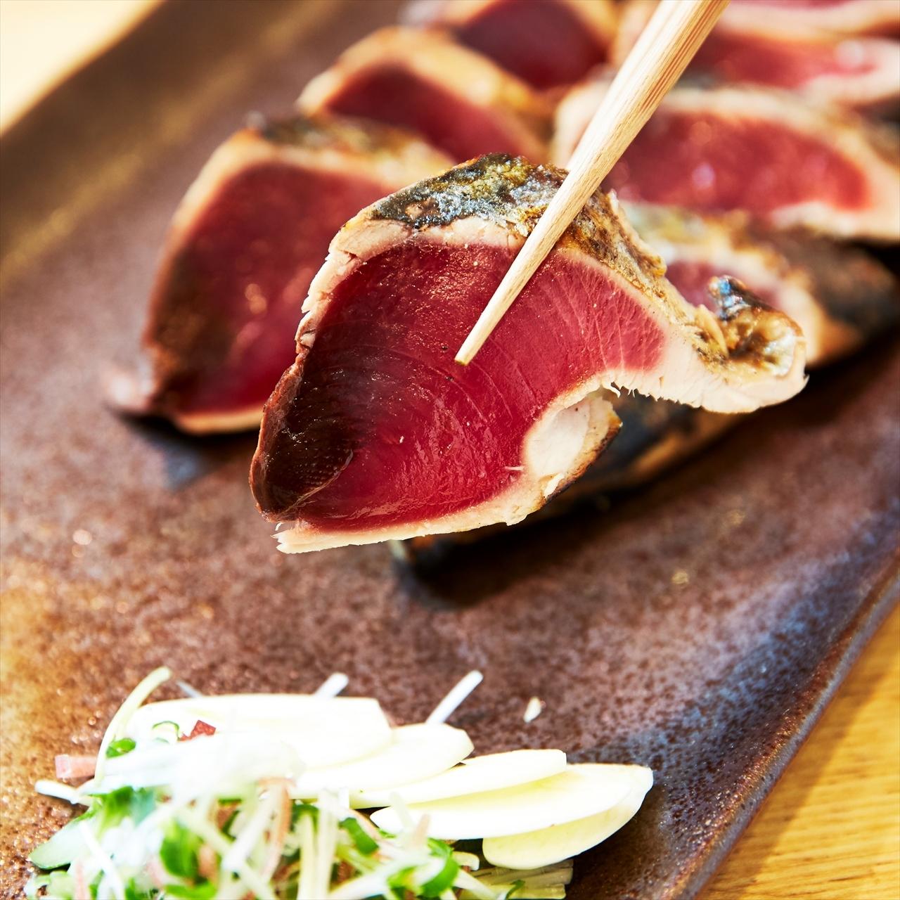 (0289)【カツオの美味しい季節到来!】焼津産 藁焼カツオタタキ
