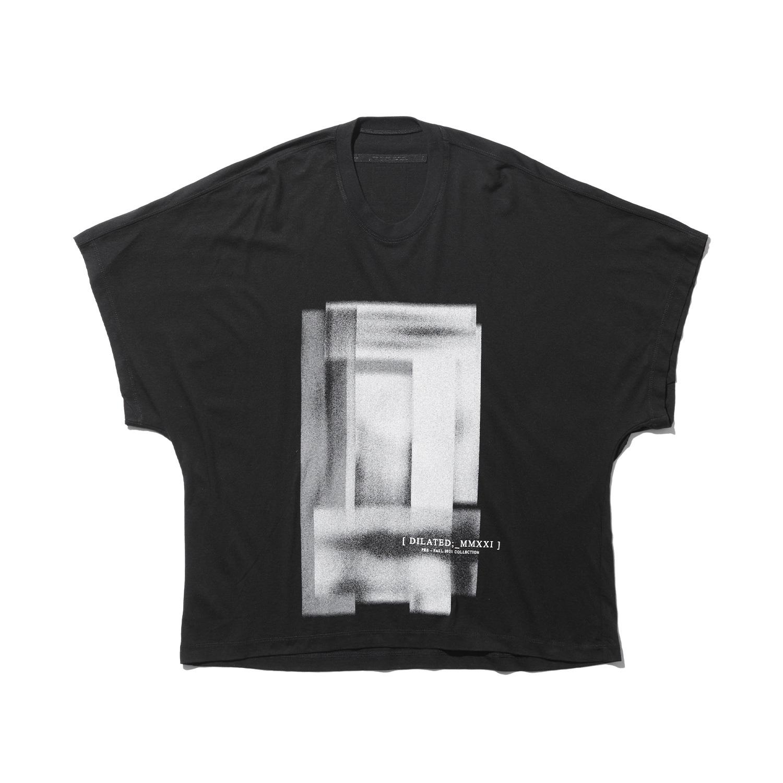 747CUM8-BLACK / カイトTシャツ