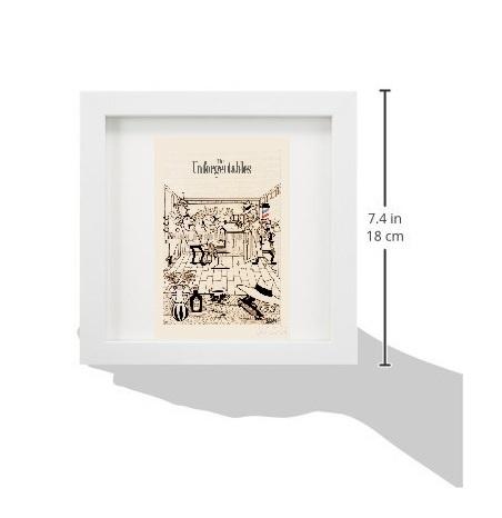 KKバーバーズPOPアート はがきサイズ6枚組 ホワイトフレーム付