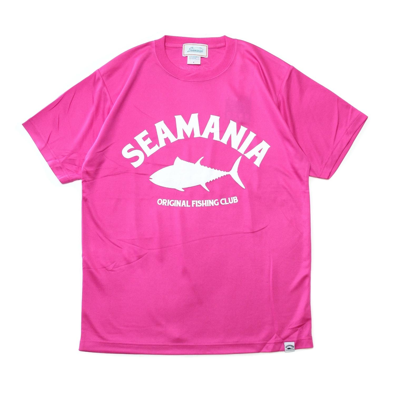 【Seamania】アーチロゴデザインdryTシャツ [T.PNK]