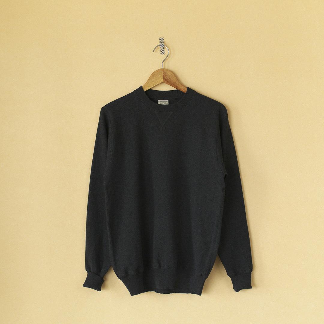 WORKERS ワーカーズ FC high gauge crew knit ハイゲージクルーニット (MEN'S)