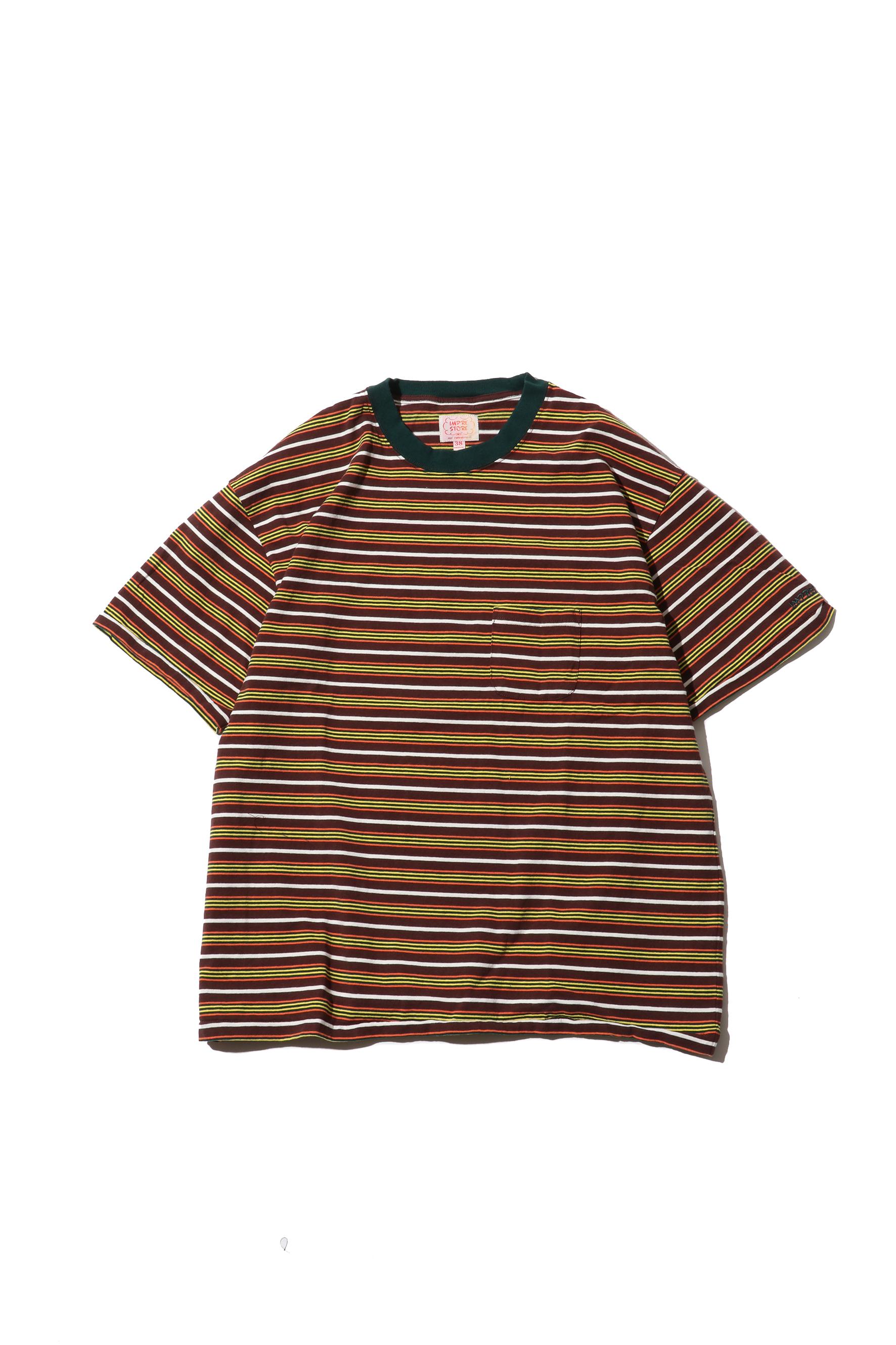 Original Multiborder Tshirt / brown