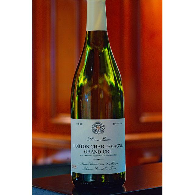 2008年コルトン・シャルルマーニュ 白ワイン