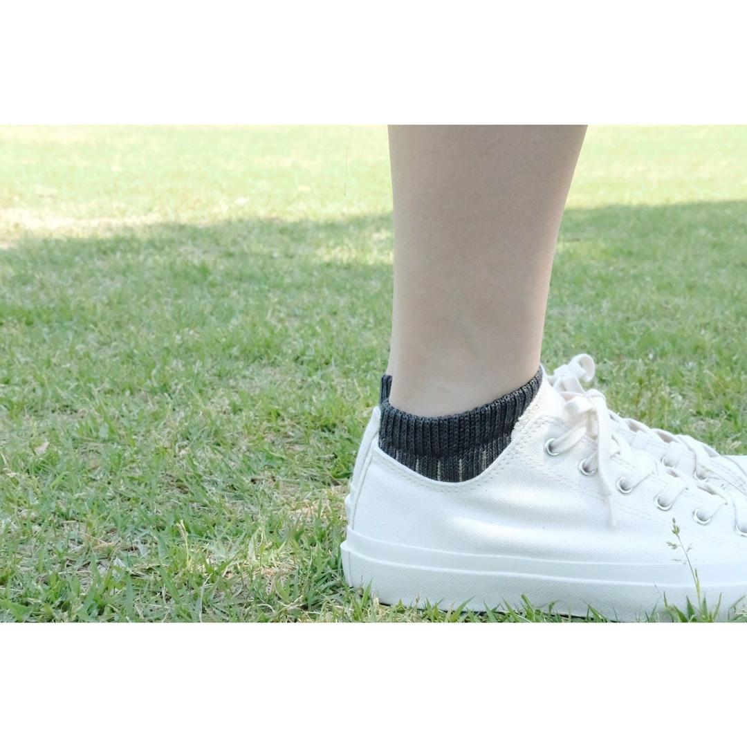 NISHIGUCHI KUTSUSHITA 西口靴下 リネンコットンアンクレット S / LINEN COTTON ANKLET S