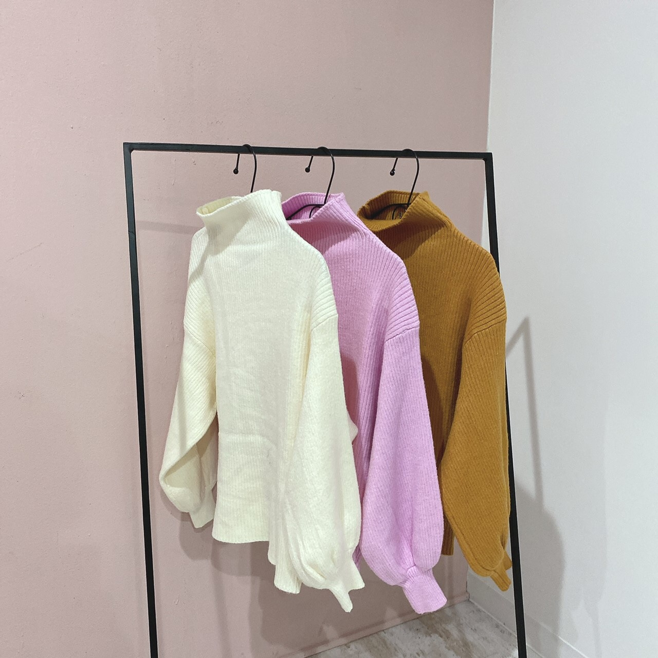 puchi highneck knit