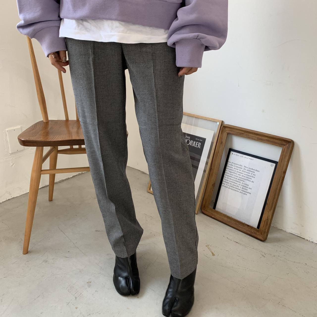 Check long pants