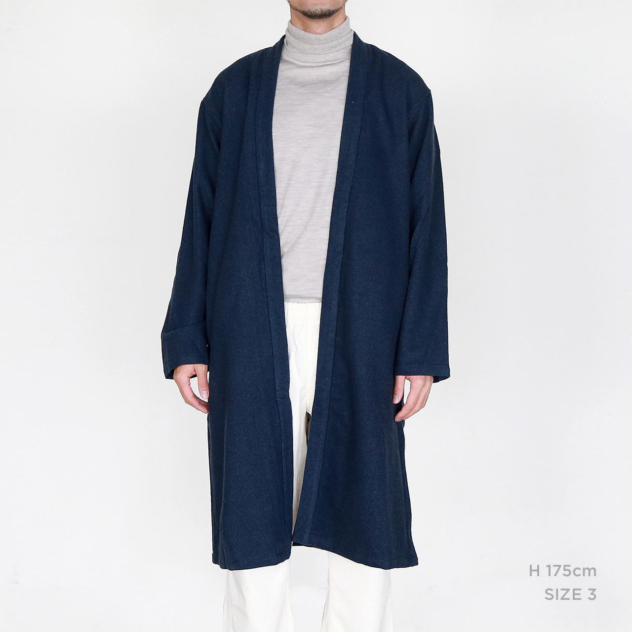 CO-06 裏付伊達羽織 濃紺●