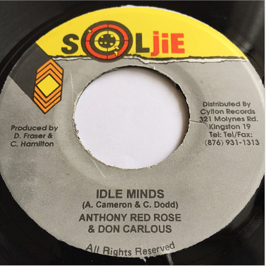 Anthony Red Rose(アンソニーレッドローズ) & Don Carlous(ドンカルロス) - Idle Minds【7'】