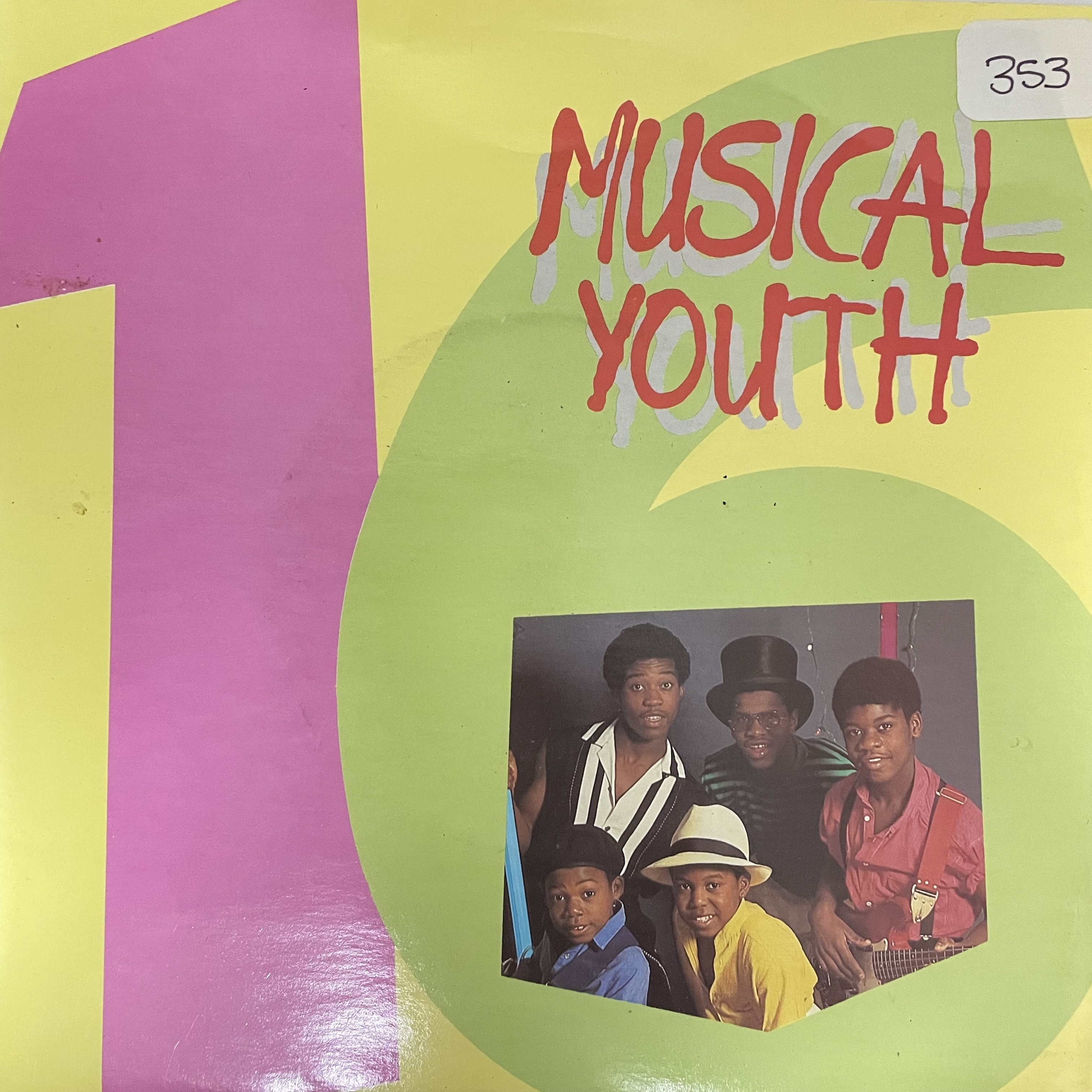 Musical Youth - Sixteen【7-20724】