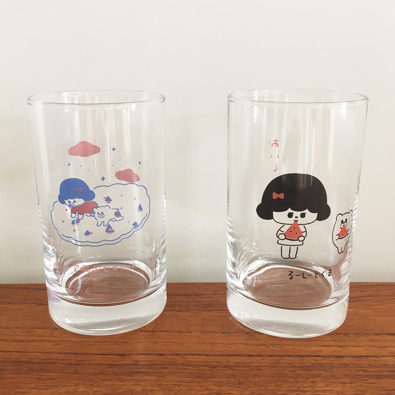 グラス2個セット