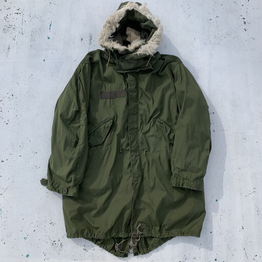 70's 80's U.S.ARMY PARKA EXTREME COLD WEATHER M-65 FISHTAIL PARKA モッズコート フルセット ミリタリー SMALL REGULAR 希少 ヴィンテージ