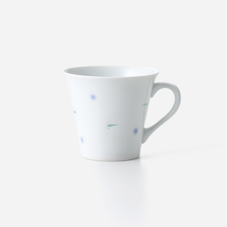 No.144 透かしメダカ マグカップ