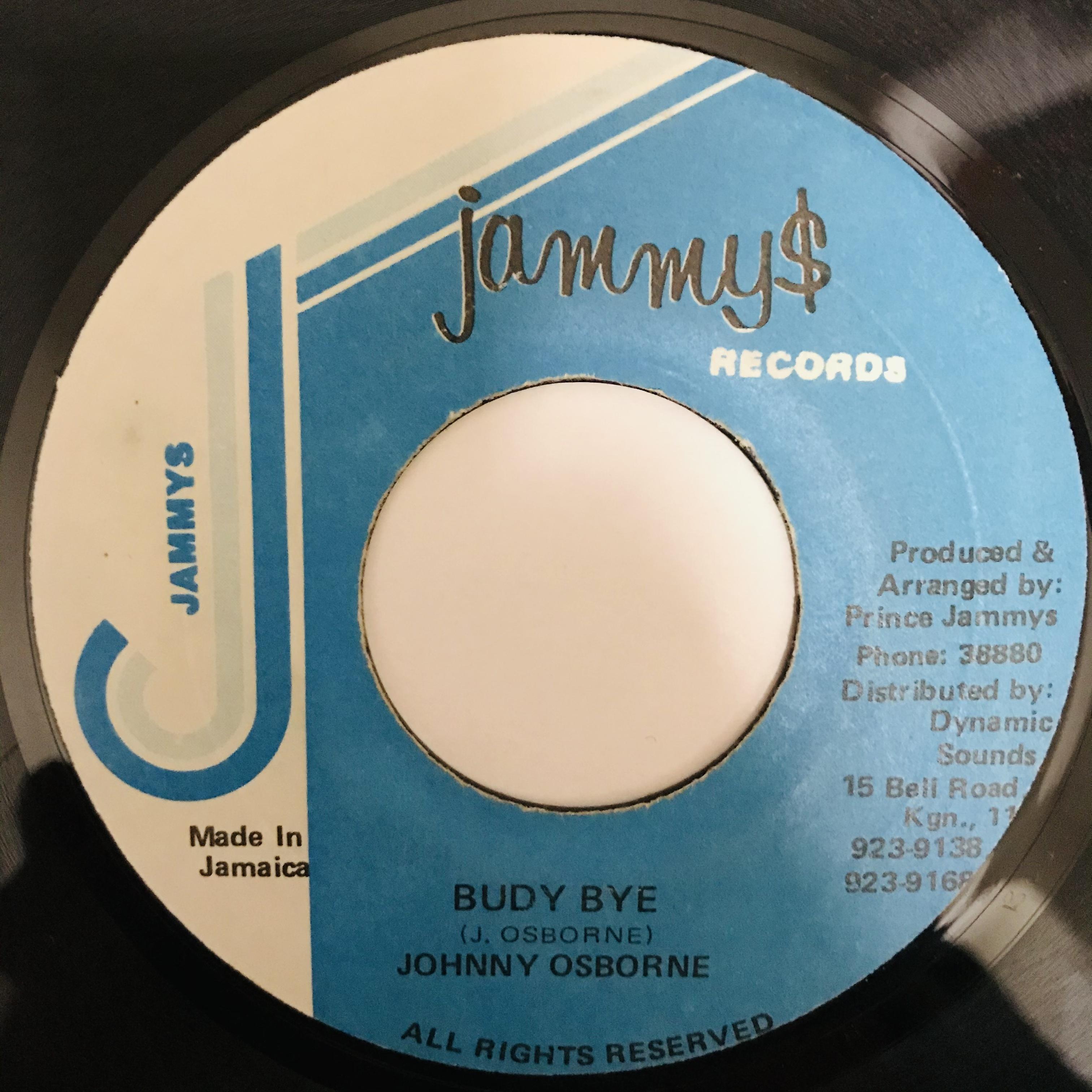 Johnny Osborne - Budy Bye 【7-10921】